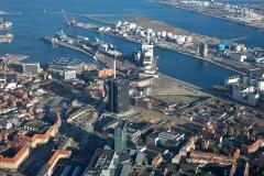 Luftfoto-af-Erhvervsområde-nær-Aarhus-Havn